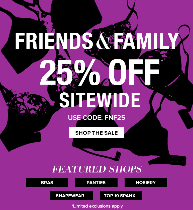 Shop Friends & Family Event
